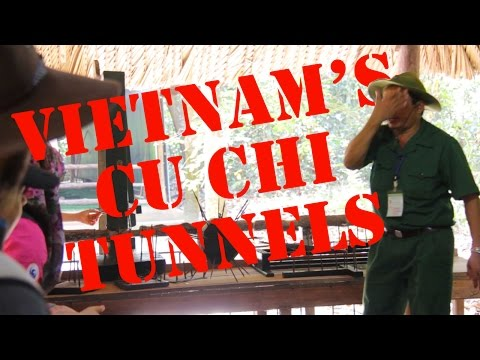 Cu Chi Tunnels and Shooting an AK47