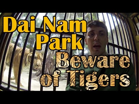 Vietnam's Dai Nam Park: Disney World for Buddhists!