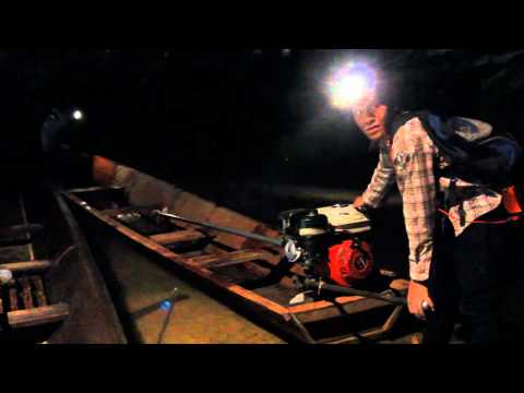 Exploring Kong Lor Cave in Laos