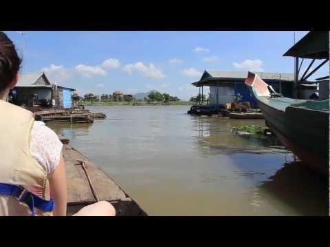 Tonle Sap River, Kampong Chhnang, Cambodia