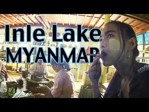 Boating and Biking in Inle Lake, Myanmar