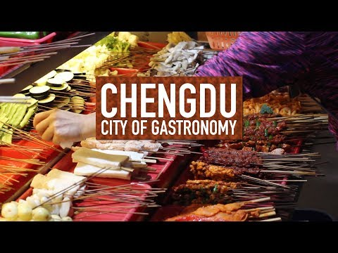 After bar food in China - Grilled Pork // Chengdu: City of Gastronomy 05