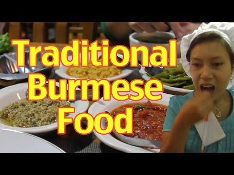 Traditional Burmese Food
