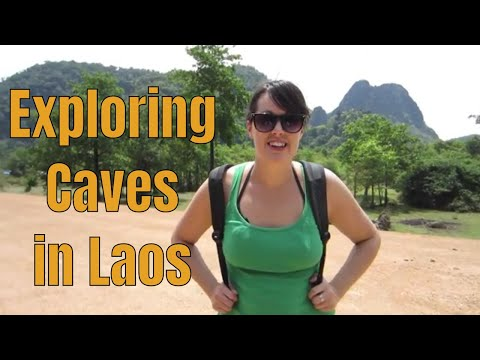 The Caves of Thakhek, Laos