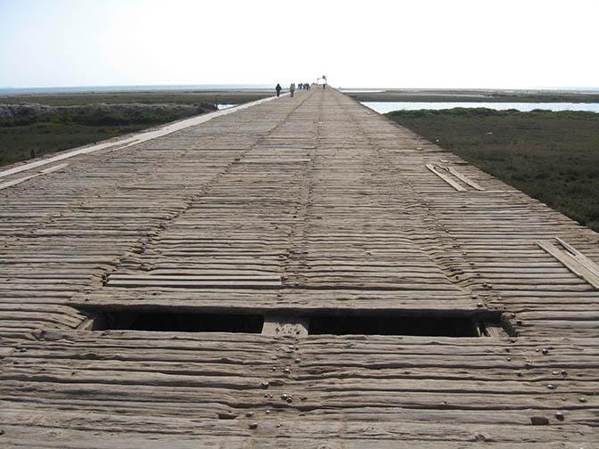 Boardwalk in Pisco, Peru