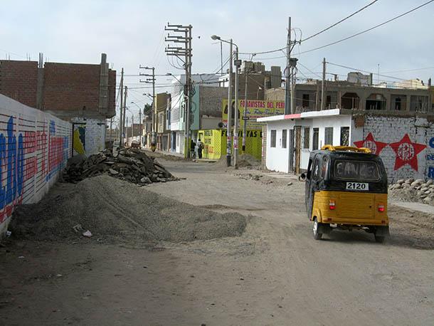 Earthquake damage Pisco, Peru