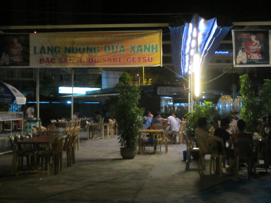 Restaurant in Nha Trang, Vietnam
