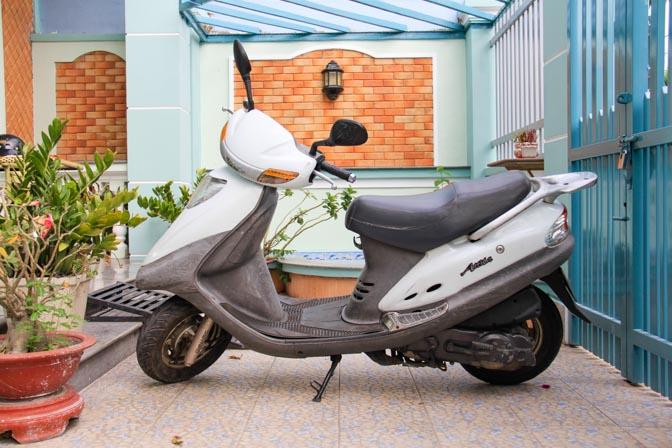 Sym Attila motorbike in Vietnam