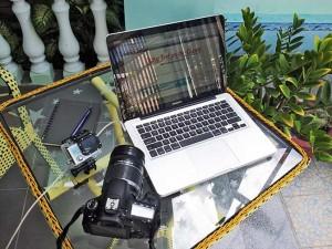 Computer, camera, and GoPro