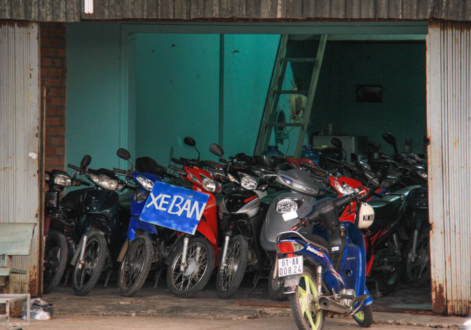 used motorcycle store in VIetnam