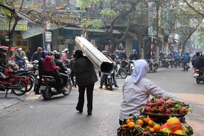 Hanoi, Vietnam streets