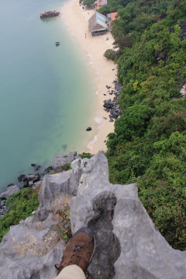Monkey Island, Vietnam in Lan Ha Bay.