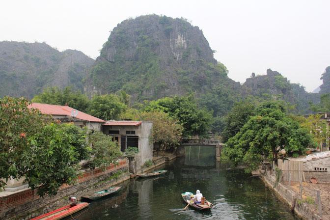 Tam Coc village in Vietnam