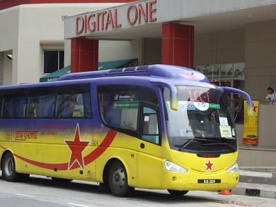 Star Shuttle bus Kuala Lumpur, Malaysia