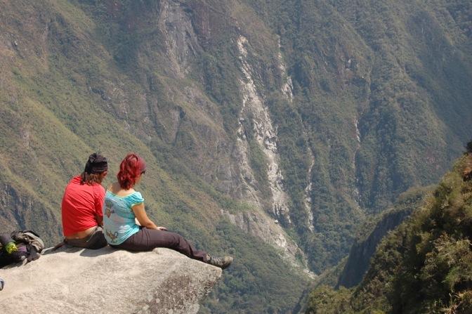 Couple at Machu Picchu, Peru
