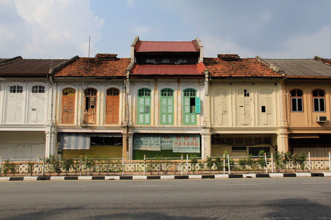 One of the many picture perfect of shops in Ipoh, Malaysia.