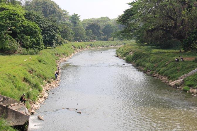 The Kinta River in Ipoh, Malaysia