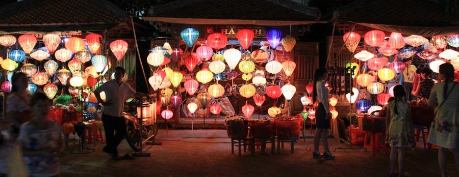 lanterns for sale in hoi an vietnam