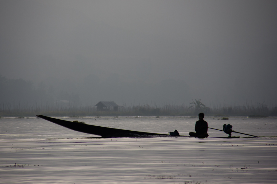 Boat bliss on Inle Lake, Myanmar