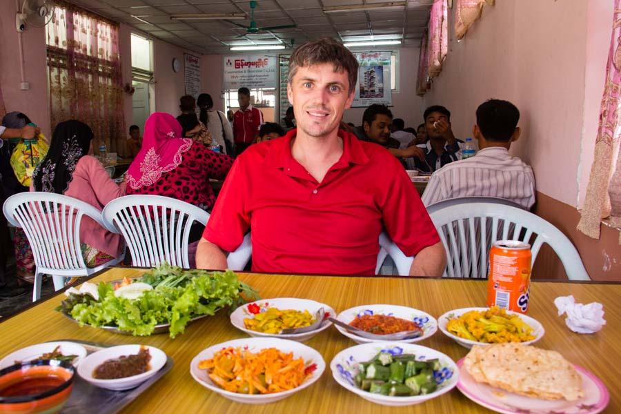 Food in Myanmar - Pyin Oo Lwin