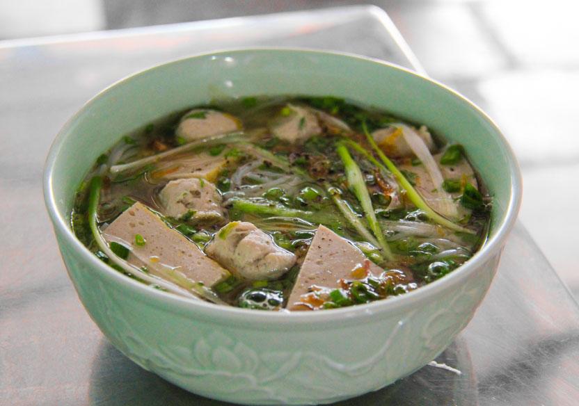 Soups in Vietnam that aren't pho - bun moc