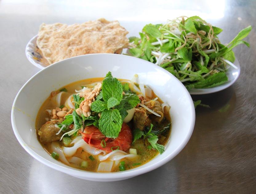 Soups in Vietnam that aren't pho - mi quang