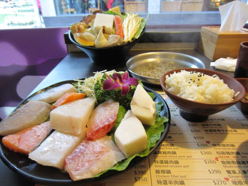 Shabu shabu in Taipei, Taiwan the best food city in the world