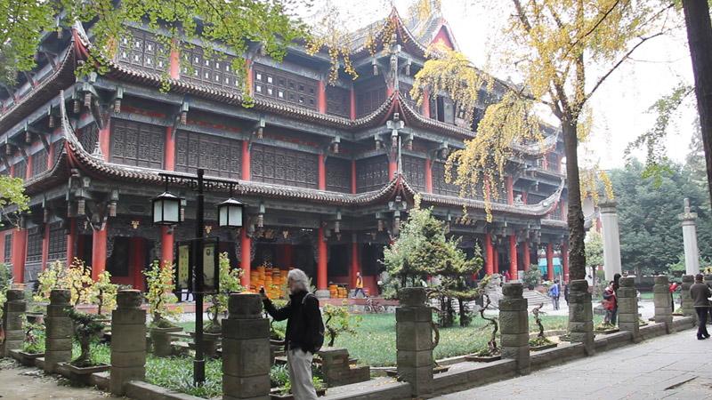 Wenshu monastery library