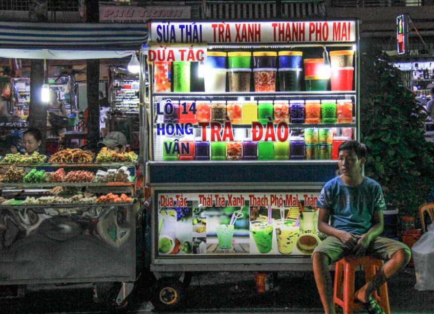 2 days in can tho - night market