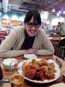 Koren Fired chicken in Incheon