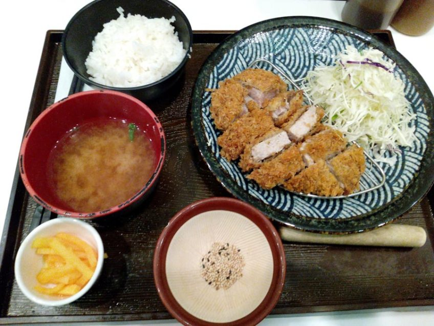 Donkkaseu pork cutlets in south korea