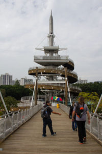 On the cheap Hong Kong location - lookout tower
